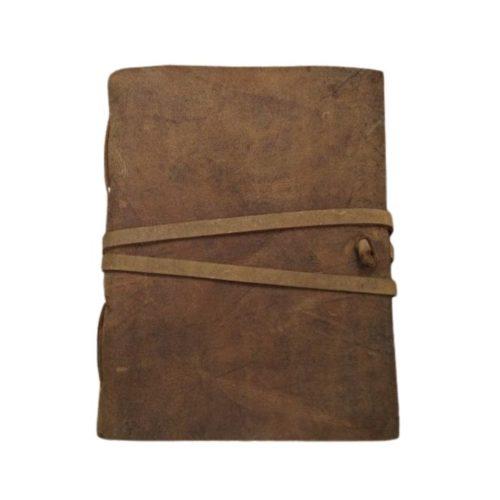 Fair Trade Buffalo Leather Journal Tan