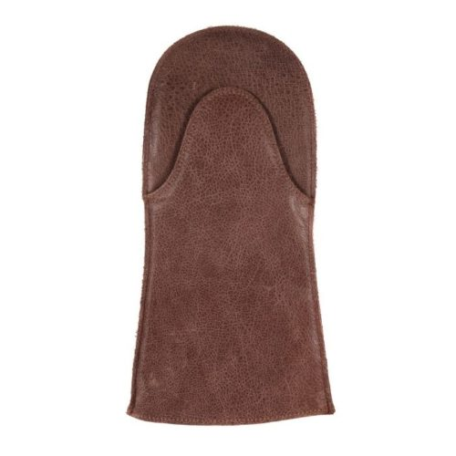 Leather Oven Mitt – Brown