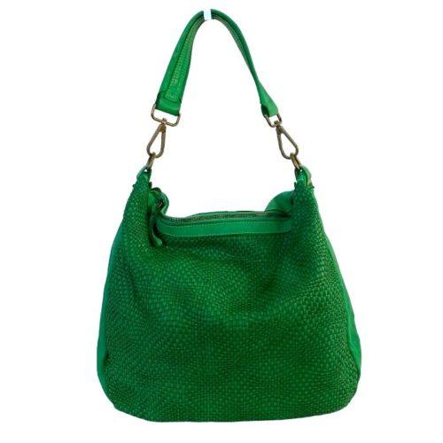 MELANIA Shoulder Bag Emerald Green