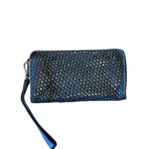 SIMO Woven Wrist Wallet Black