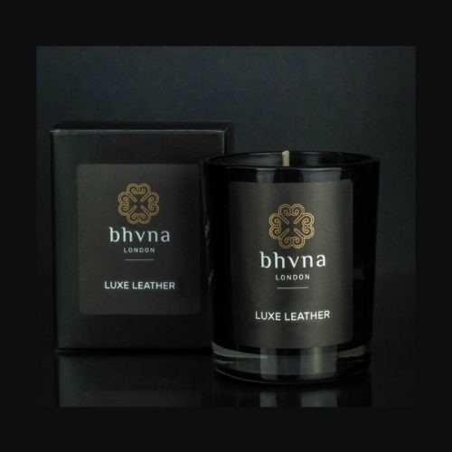Luxe Leather Travel Candle 9cl