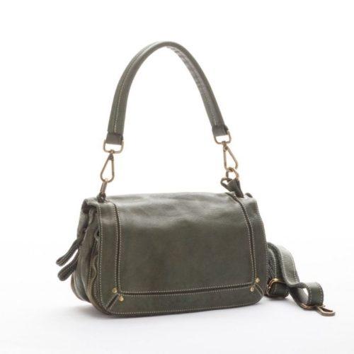 ENRICA Flap Bag Army Green