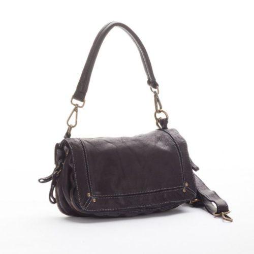 ENRICA Flap Bag Black
