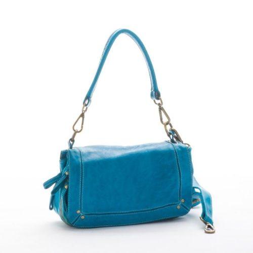 ENRICA Flap Bag Blue
