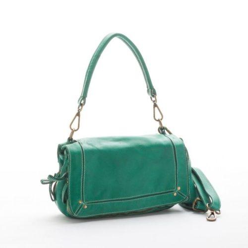 ENRICA Flap Bag Emerald