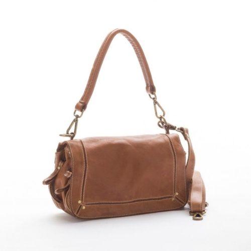 ENRICA Flap Bag Tan