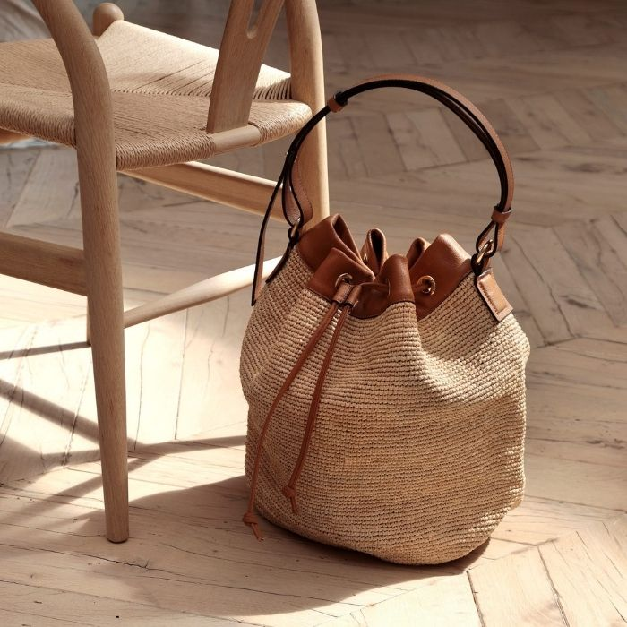 Straw and Leather