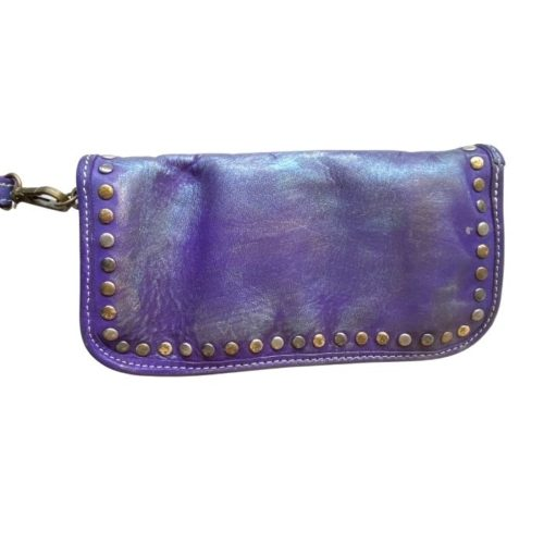 SIMONA Wrist Wallet With Studs Purple Limited Edition