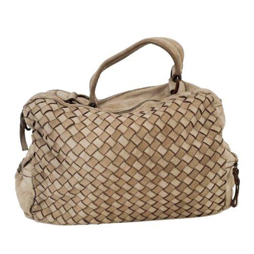 DILETTA Hand Bag Woven Beige