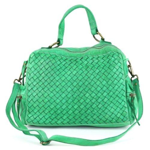 DILETTA Hand Bag Woven Bright Green
