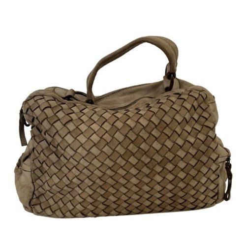 DILETTA Hand Bag Woven Taupe