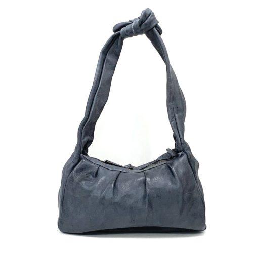 RITA Knot Vintage Style Shoulder Bag Dark Grey