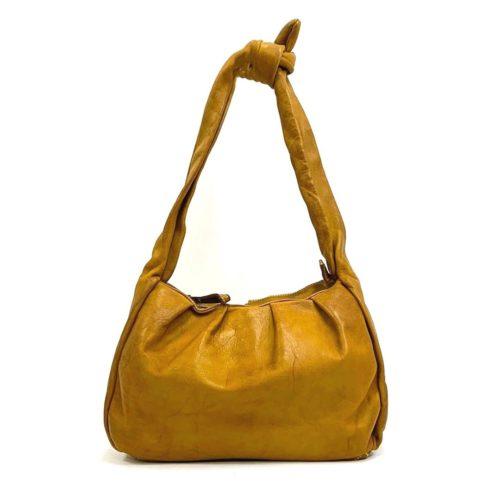 RITA Knot Vintage Style Shoulder Bag Mustard