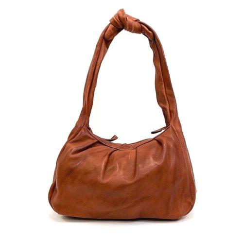 RITA Knot Vintage Style Shoulder Bag Terracotta
