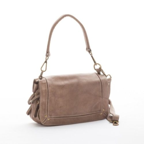 ENRICA Flap Bag Taupe