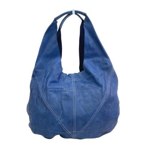MARISA Hobo Shoulder Bag Blue