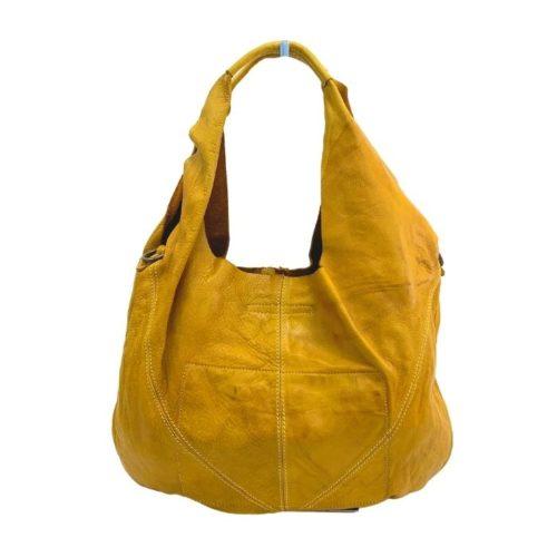 MARISA Hobo Shoulder Bag Mustard