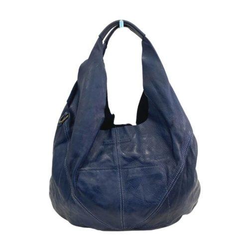 MARISA Hobo Shoulder Bag Navy