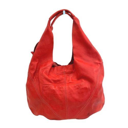 MARISA Hobo Shoulder Bag Red