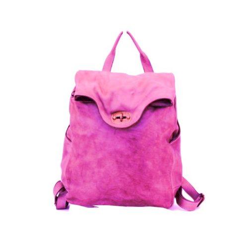 AURORA Backpack With Lock Fuchsia