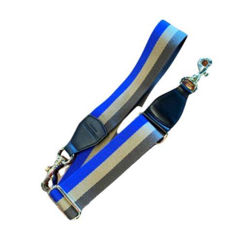 Shoulder Strap Blue/Taupe/Grey