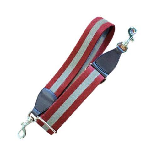 Shoulder Strap Red/Taupe