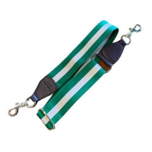 Shoulder Strap Emerald/Beige