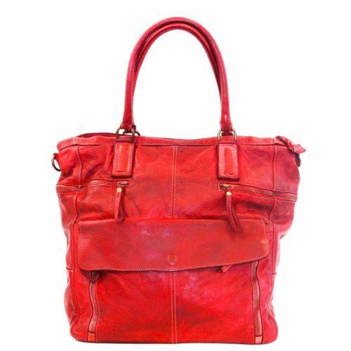 CRISTINA Shopper Red