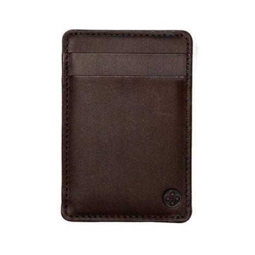 Vertical Card Holder Brown
