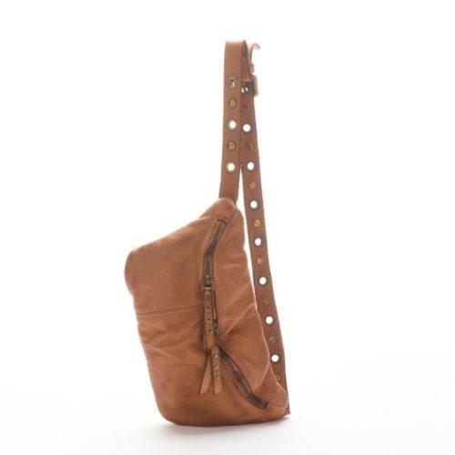 Zita Leather Bumbag – Tan
