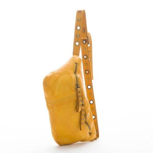 Zita Leather Bumbag – Mustard